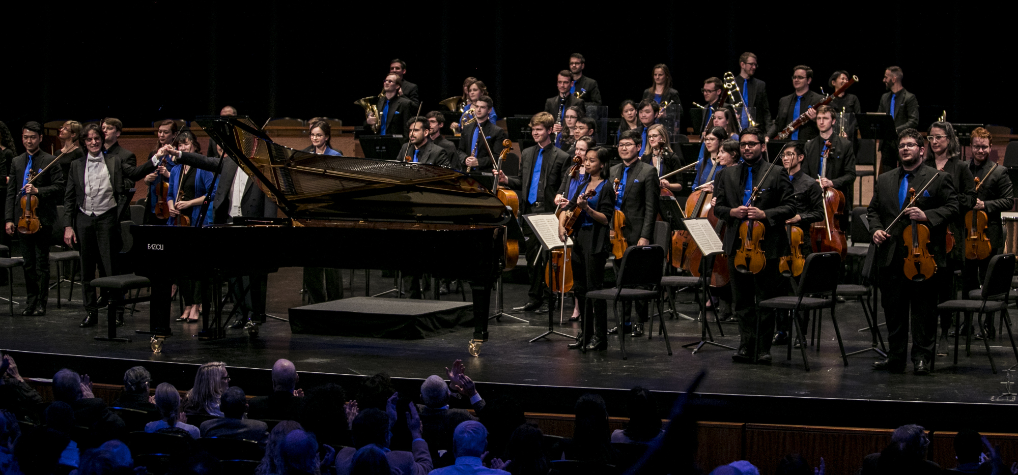 Alessandro Taverna at Lincoln Center with Fabio Luisi and the NOW Orchestra